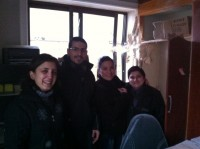 Staff of the Caritas centre in Aleppo miraculously just missed the attack.