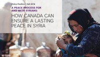 How Canada can ensure a lasting peace in Syria