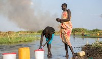 Violent clashes in South Sudan - have left 300 dead