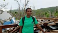 Joanne Moïse, women's peasant organization OFTAG - Haiti