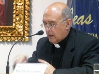 Archbishop Barreto of Huancayo, Peru