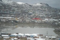 Polluted water in Cerro de Pasco caused by local mine