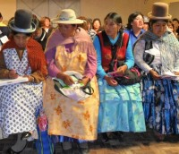 Most of Bolivia's domestic workers who stand to gain from the new treaty are indigenous women.