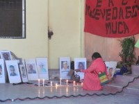 Local people remembering the victims of human rights violations