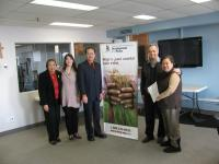 Executive Director Michael Casey with members of the FFCA