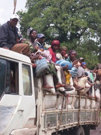 Thousands have been displaced in the DRC by conflict
