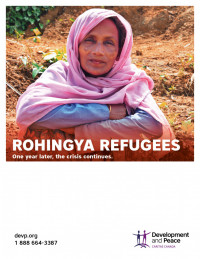 Rohingya Crisis Poster One Year Later
