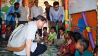 visiting Rohingya refugee camps