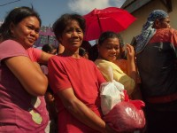Typhoon victims receive clothing from Caritas Philippines-NASSA