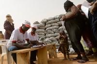 CADEV - Caritas Niger - staff with Malian refugees
