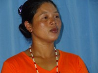 B'laan tribal leader Erita DIalang is defending her community against a planned mining project.