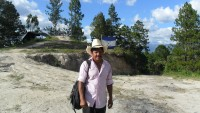 Fernando is the group leader of the Indigenous Lenca Movement of La Paz, who are trying to reclaim their land.