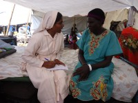 The Daughters of Mary Immaculate are helping the displaced in camps in Juba.