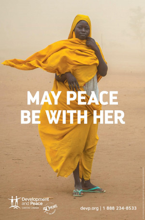 May Peace Be with Her - Poster