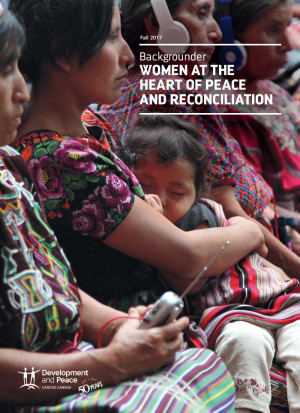 Backgrounder on Women and Peace