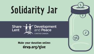 Solidarity Jar Sticker