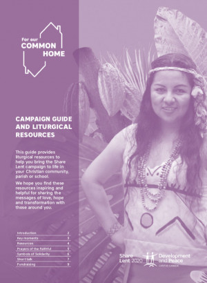 Campaign Guide and Liturgical Resources 2020