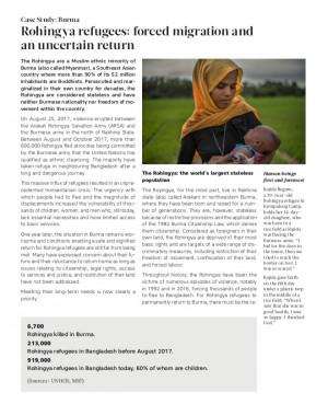 Backgrounder on Forced Migration