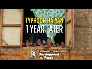 Embedded thumbnail for Typhoon Haiyan: One Year Later