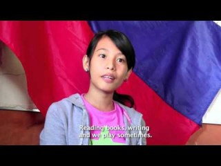 Embedded thumbnail for What a day in the life is like for 13-year-old Janine in the Philippines